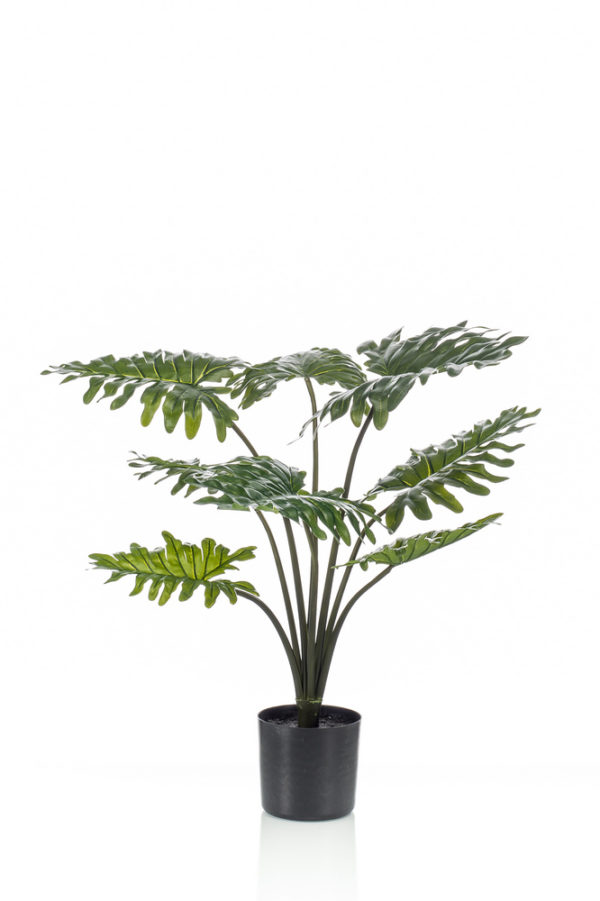 Artificial Philodendron plant RT 80cm/12lvs