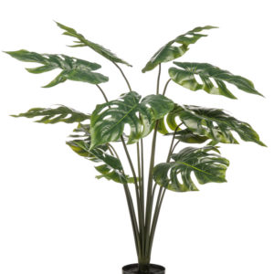 Artificial Monstera plant RT 95cm/14lvs in pot