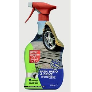 Bayer Garden Path, Patio & Drive Weedkiller RTU 1 Ltr