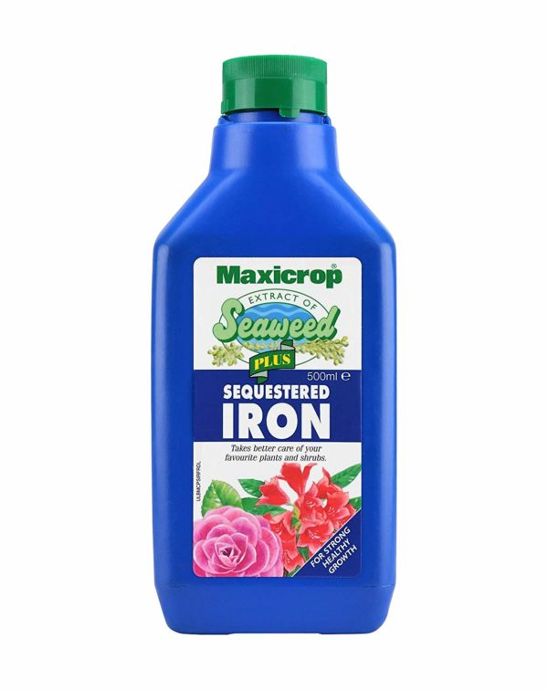 Maxicrop Seaweed Extract Plus Sequestered Iron 500ml