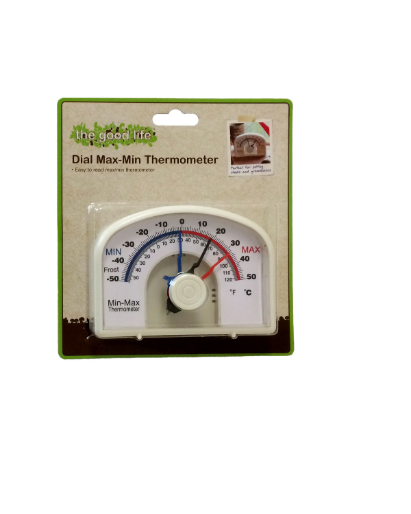 The Good Life Dial Max-Min Thermometer