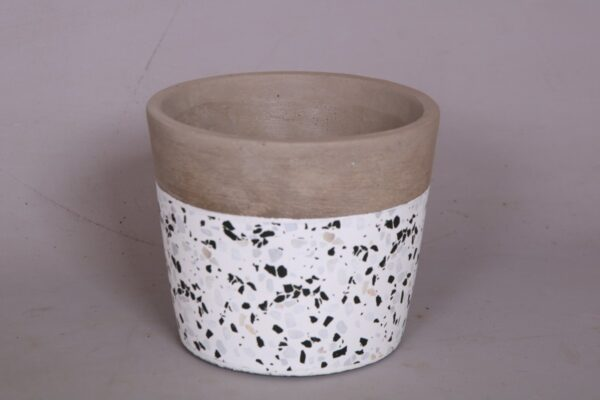 Ceramic white speckle